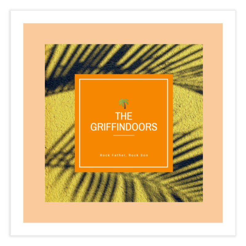 "THE GRIFFINDOORS ""Palm Trees"" Home Fine Art Print by Turkeylegsray's Artist Shop"