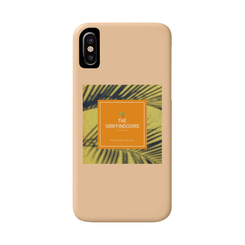 """THE GRIFFINDOORS """"Palm Trees"""" Accessories Phone Case by Turkeylegsray's Artist Shop"""
