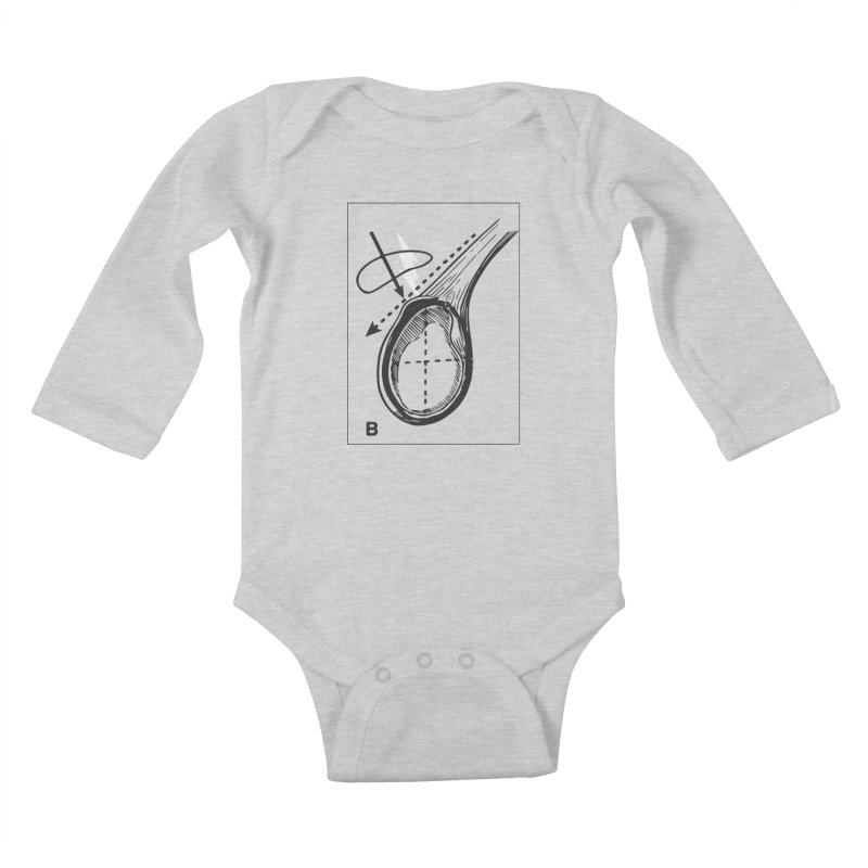 Peel Kids Baby Longsleeve Bodysuit by Turkeylegsray's Artist Shop