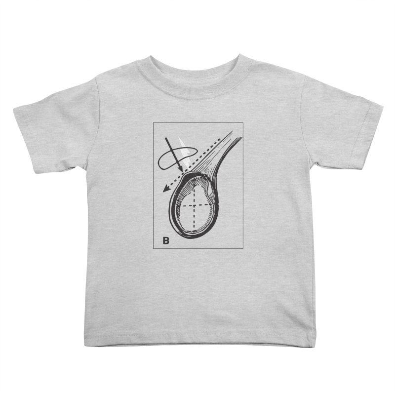 Peel Kids Toddler T-Shirt by Turkeylegsray's Artist Shop