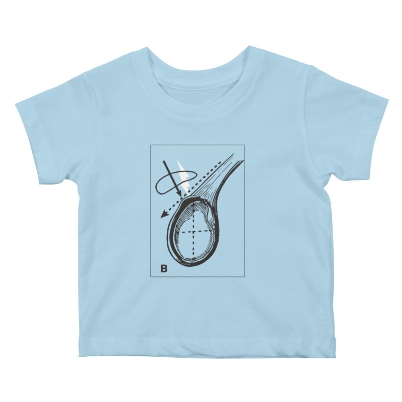 Peel Kids Baby T-Shirt by Turkeylegsray's Artist Shop