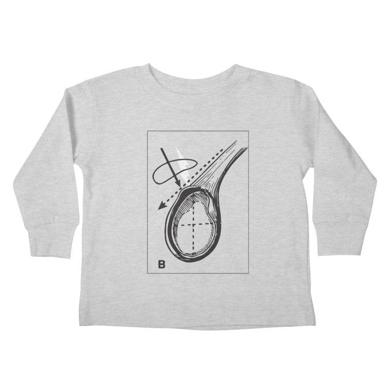 Peel Kids Toddler Longsleeve T-Shirt by Turkeylegsray's Artist Shop