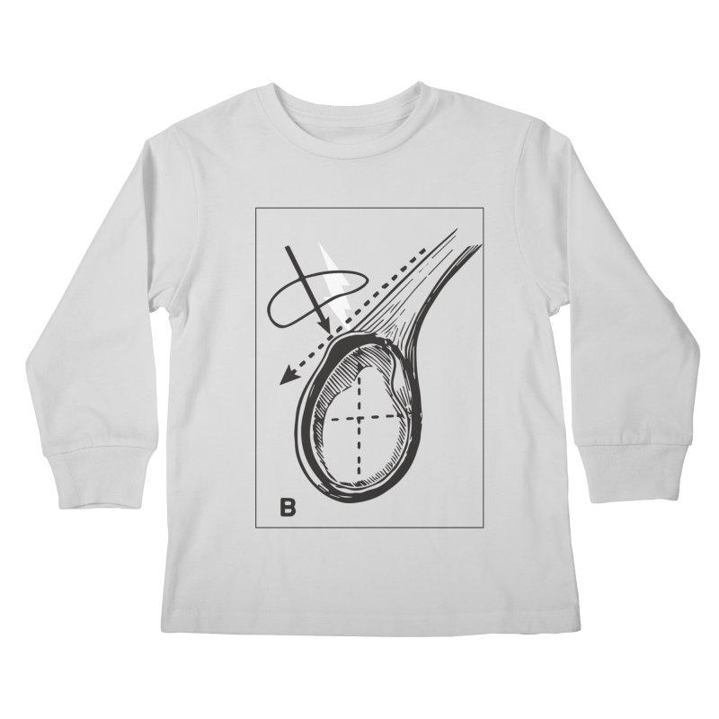 Peel Kids Longsleeve T-Shirt by Turkeylegsray's Artist Shop