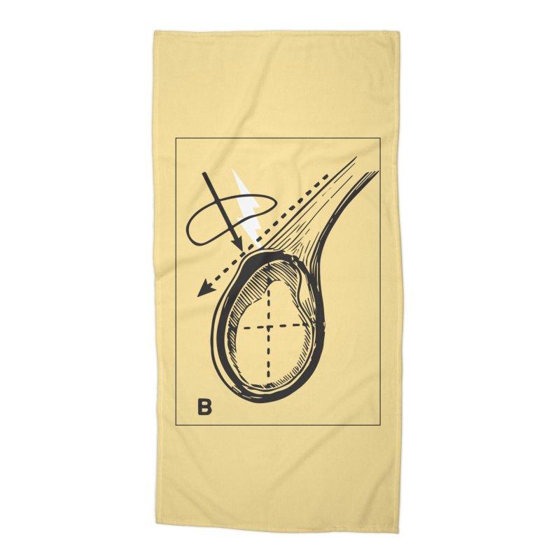 Peel Accessories Beach Towel by Turkeylegsray's Artist Shop