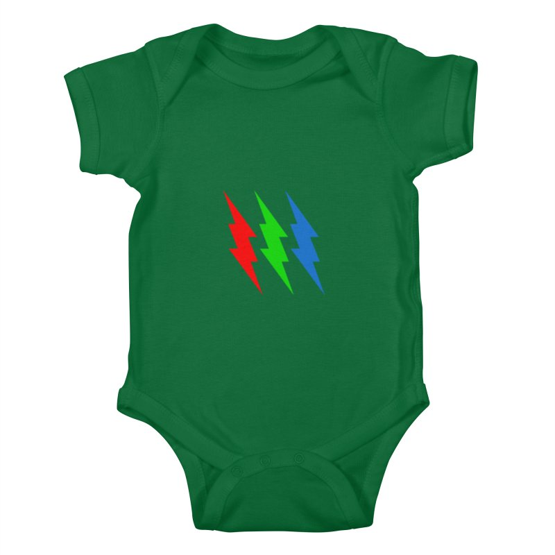 RG(BOLT) Kids Baby Bodysuit by Turkeylegsray's Artist Shop