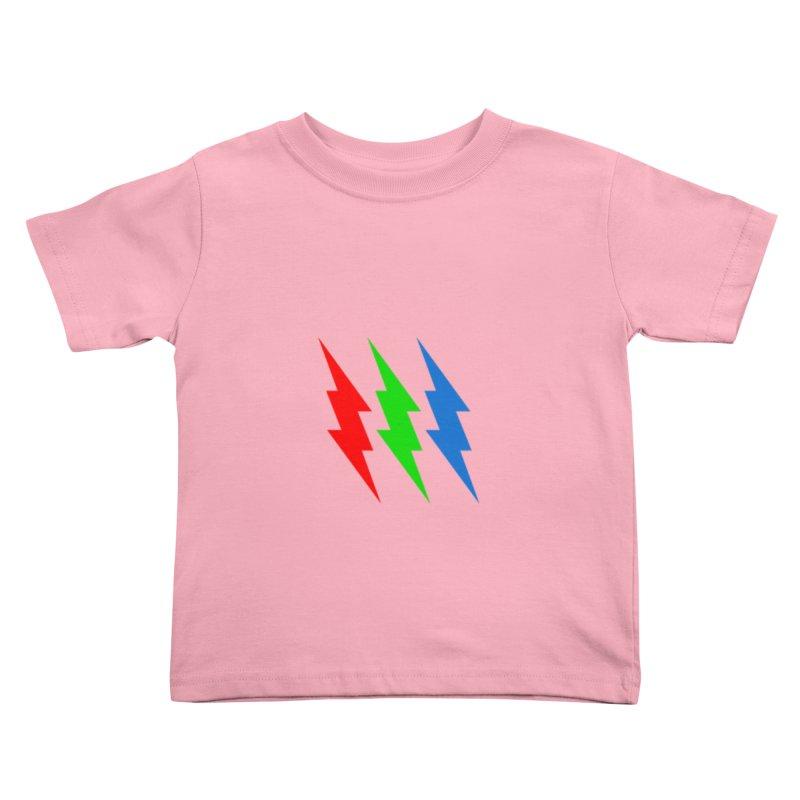 RG(BOLT) Kids Toddler T-Shirt by Turkeylegsray's Artist Shop
