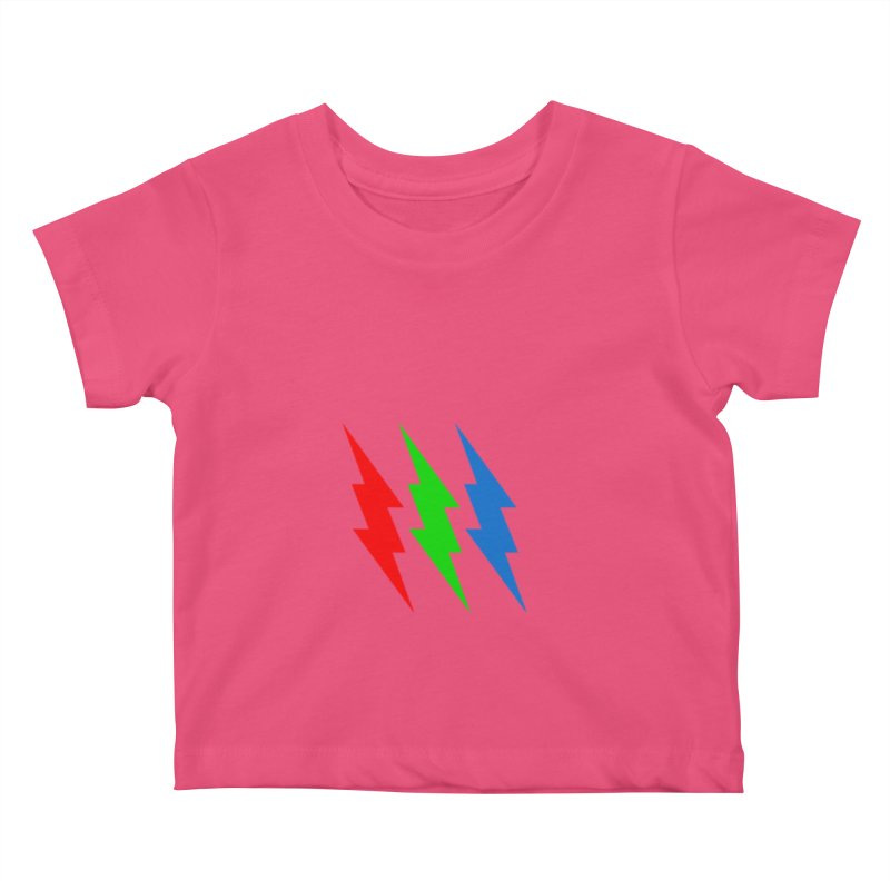 RG(BOLT) Kids Baby T-Shirt by Turkeylegsray's Artist Shop