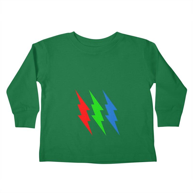 RG(BOLT) Kids Toddler Longsleeve T-Shirt by Turkeylegsray's Artist Shop