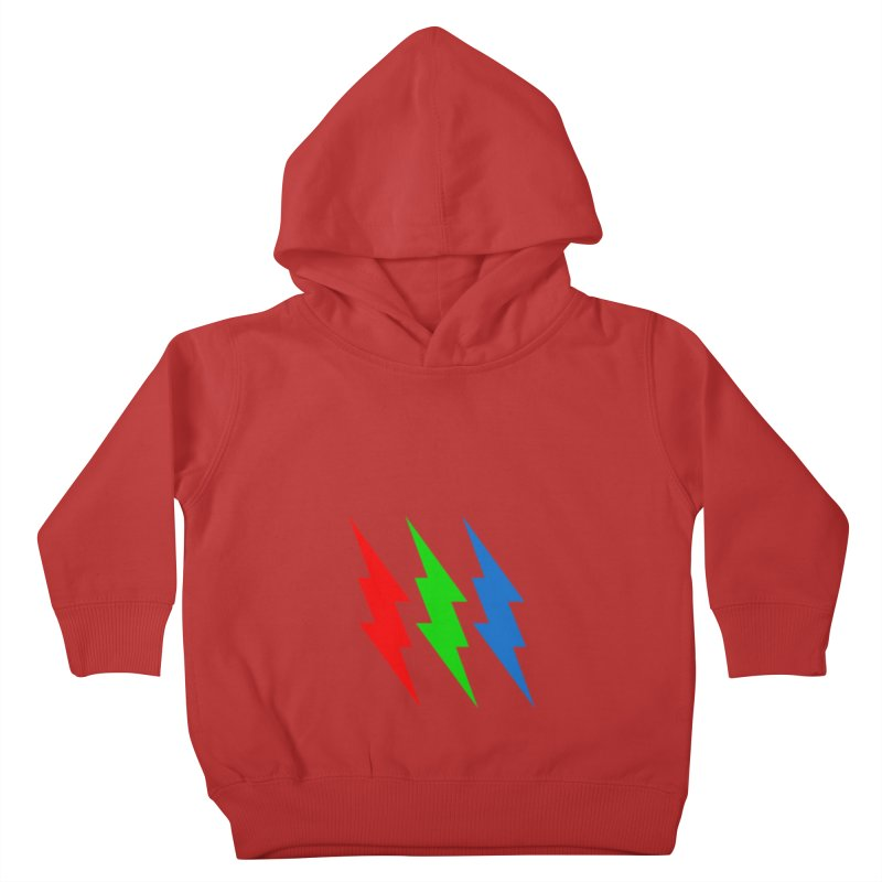 RG(BOLT) Kids Toddler Pullover Hoody by Turkeylegsray's Artist Shop