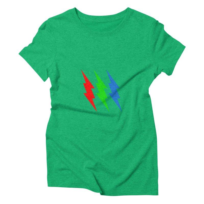 RG(BOLT) Women's Triblend T-Shirt by Turkeylegsray's Artist Shop