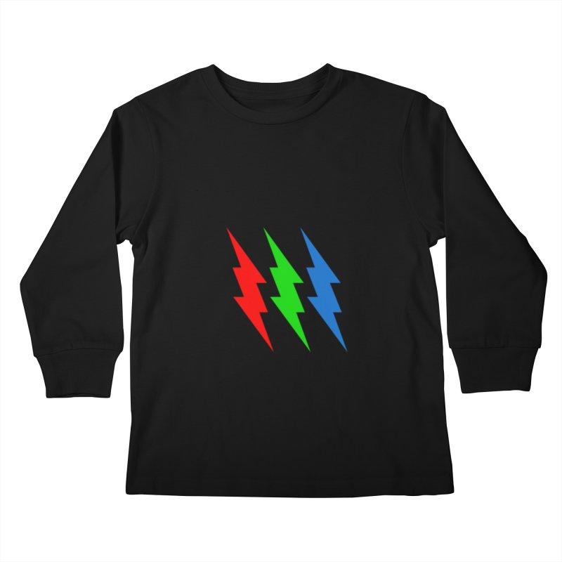 RG(BOLT) Kids Longsleeve T-Shirt by Turkeylegsray's Artist Shop