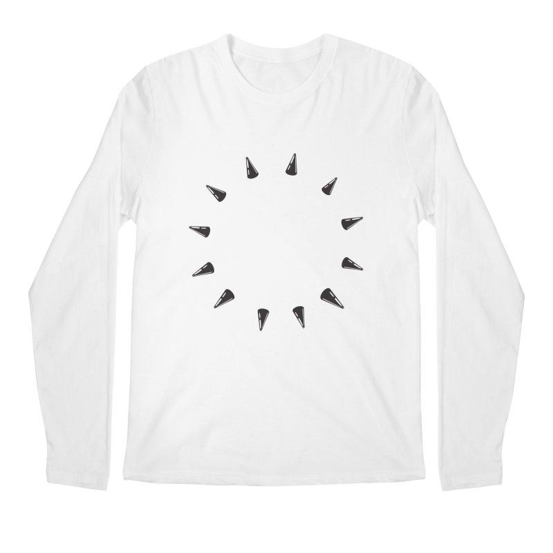 spikes Men's Longsleeve T-Shirt by Turkeylegsray's Artist Shop