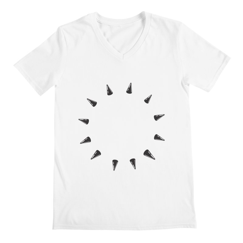 spikes Men's V-Neck by Turkeylegsray's Artist Shop