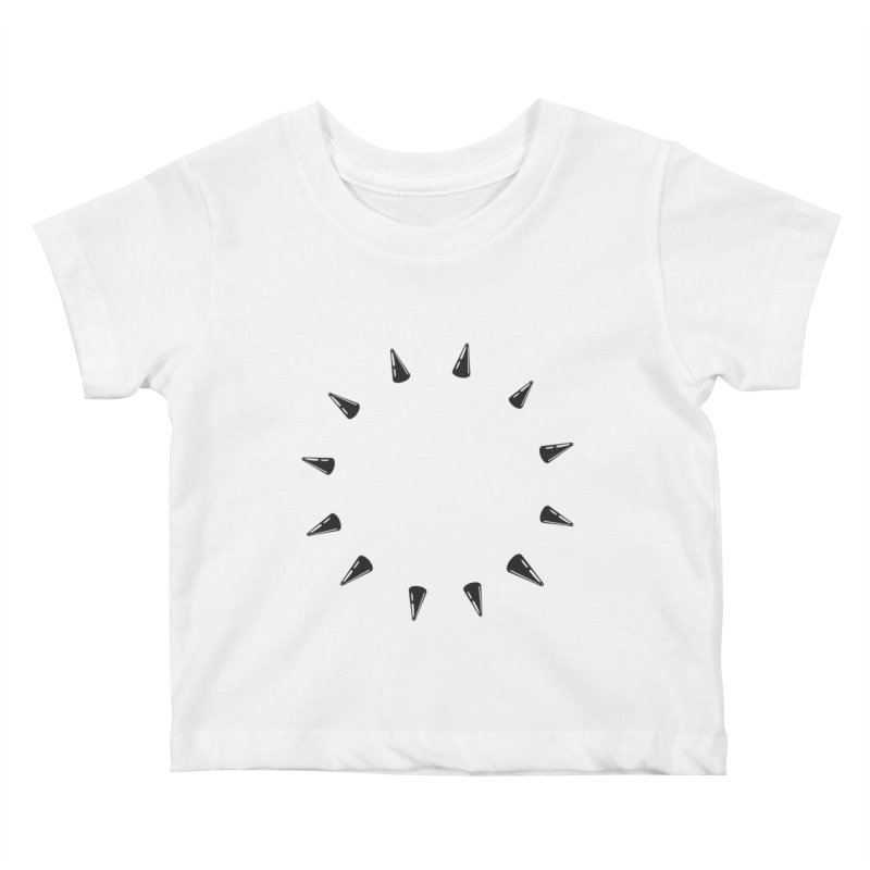 spikes Kids Baby T-Shirt by Turkeylegsray's Artist Shop