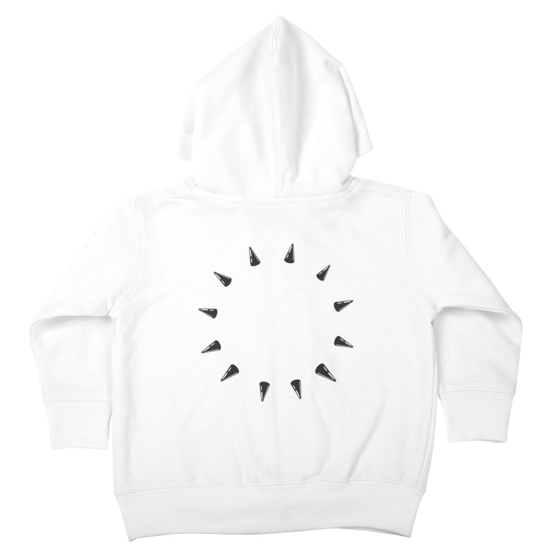 spikes Kids Toddler Zip-Up Hoody by Turkeylegsray's Artist Shop