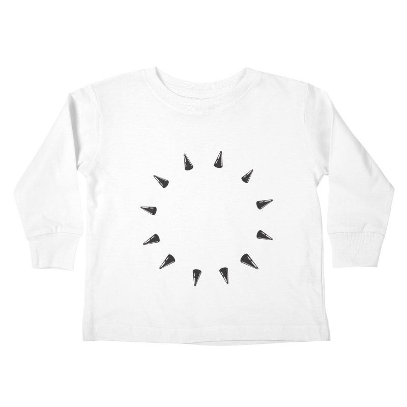 spikes Kids Toddler Longsleeve T-Shirt by Turkeylegsray's Artist Shop