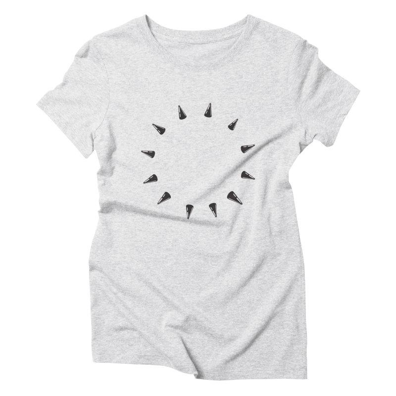 spikes Women's Triblend T-Shirt by Turkeylegsray's Artist Shop