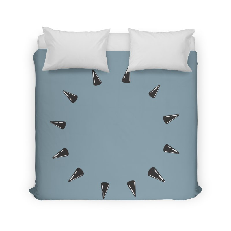 spikes Home Duvet by Turkeylegsray's Artist Shop