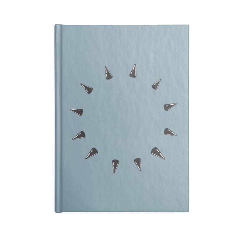 spikes Accessories Notebook by Turkeylegsray's Artist Shop