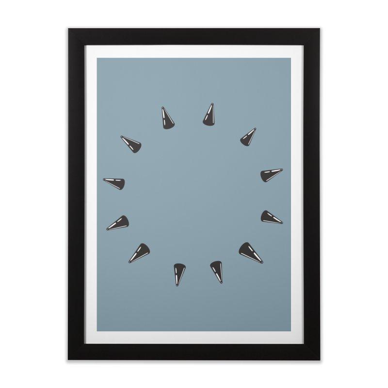 spikes Home Framed Fine Art Print by Turkeylegsray's Artist Shop