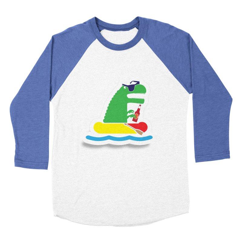 DINO-RAFTER Women's Baseball Triblend T-Shirt by Turkeylegsray's Artist Shop