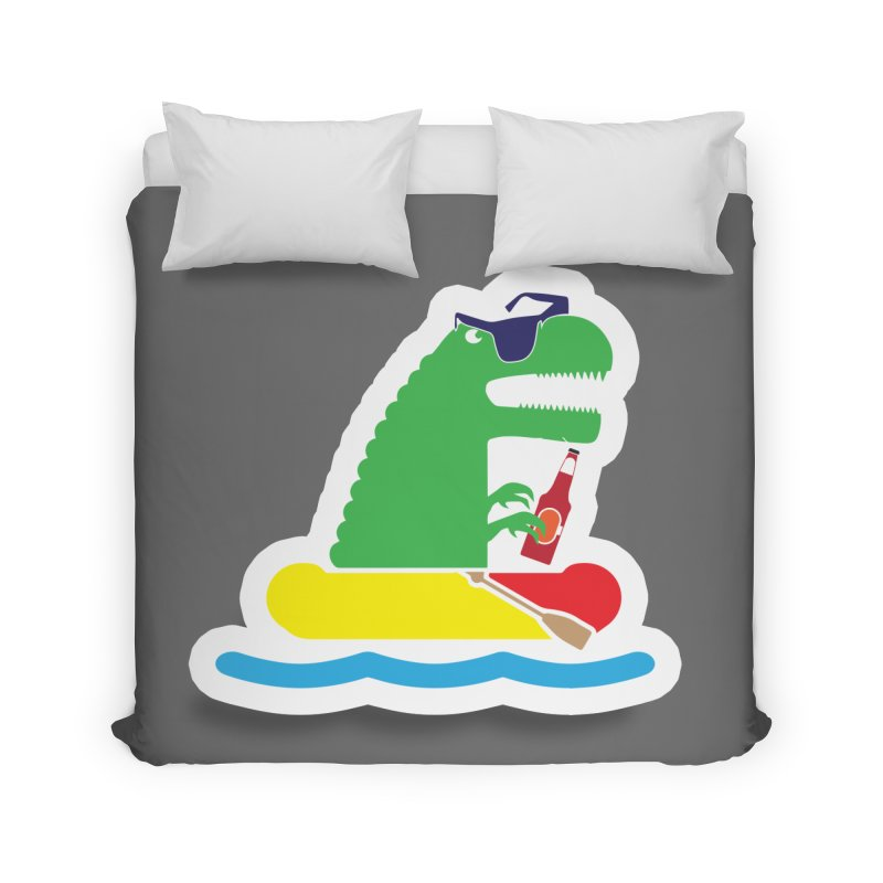 DINO-RAFTER Home Duvet by Turkeylegsray's Artist Shop