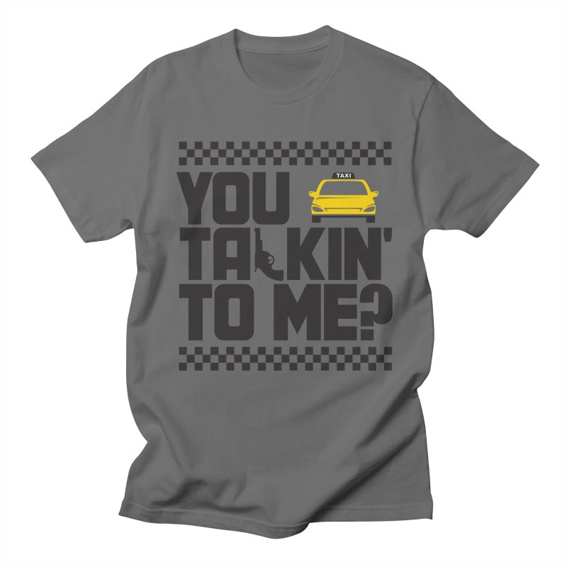 Taxi Driver Men's T-Shirt by Turkeylegsray's Artist Shop