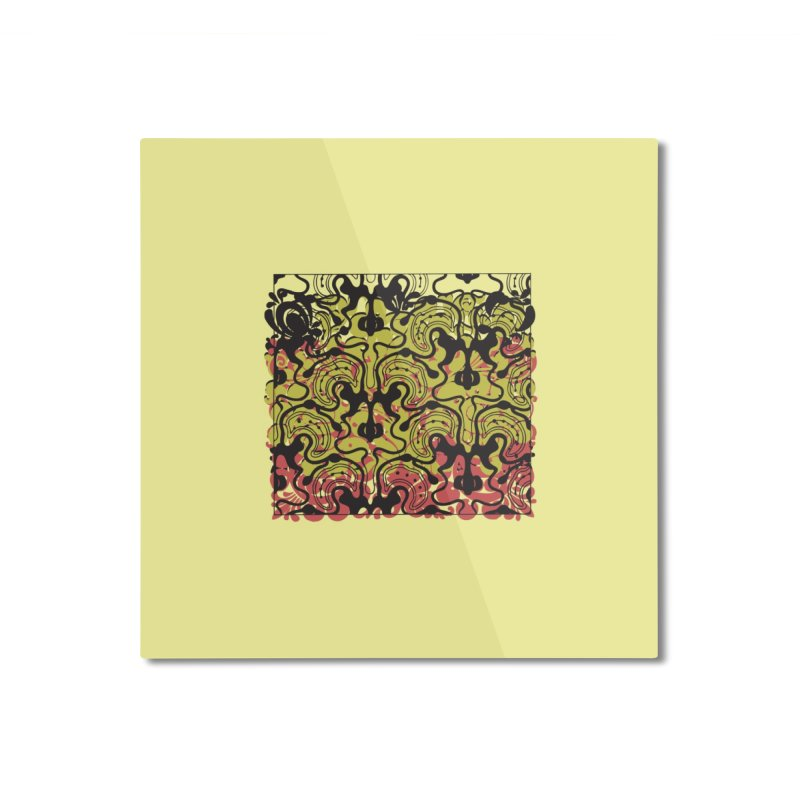 square. Home Mounted Aluminum Print by Turkeylegsray's Artist Shop