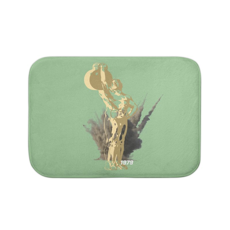 STRONG Home Bath Mat by Turkeylegsray's Artist Shop