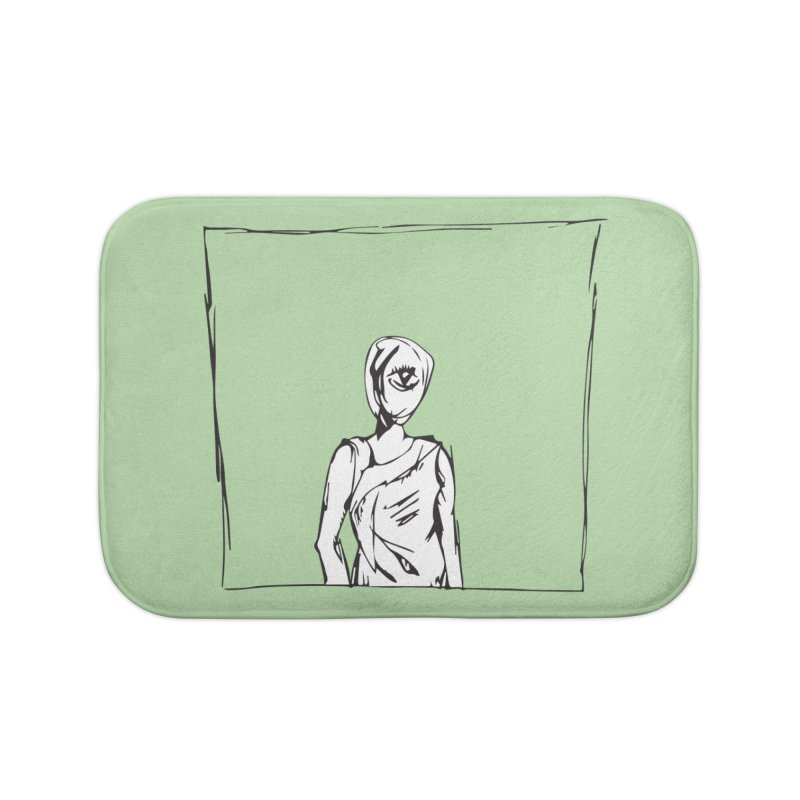 EYE Home Bath Mat by Turkeylegsray's Artist Shop