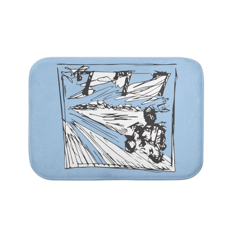 BIKE Home Bath Mat by Turkeylegsray's Artist Shop