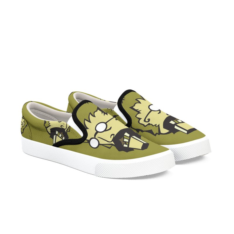 Clutter Zombie Women's Slip-On Shoes by Turkeylegsray's Artist Shop