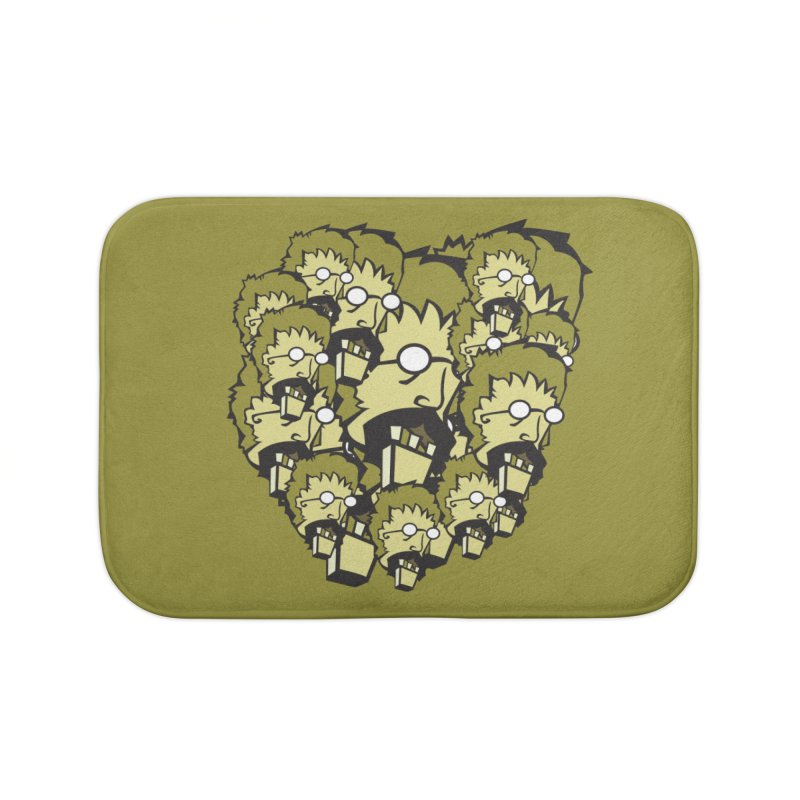 Clutter Zombie Home Bath Mat by Turkeylegsray's Artist Shop