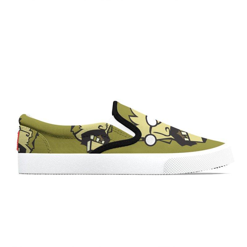 Clutter Zombie Men's Shoes by Turkeylegsray's Artist Shop