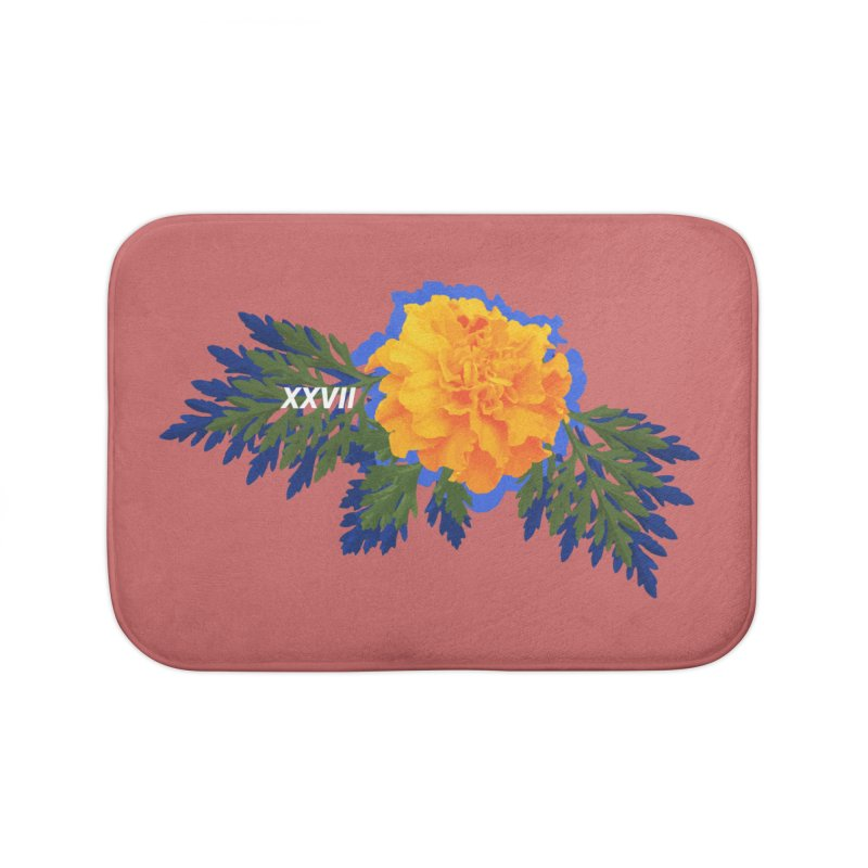 XXVII Home Bath Mat by Turkeylegsray's Artist Shop