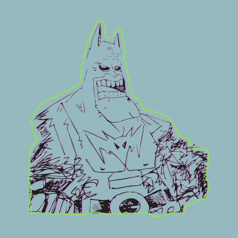 Scribble Batman by Turkeylegsray's Artist Shop