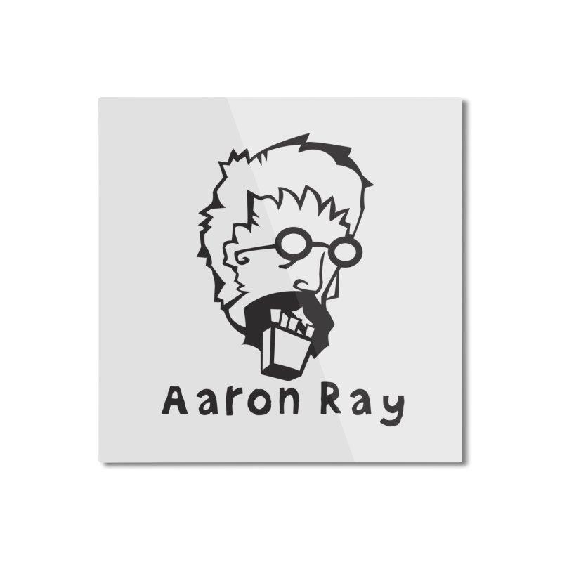 Aaron Ray Zombie Head Home Mounted Aluminum Print by Turkeylegsray's Artist Shop