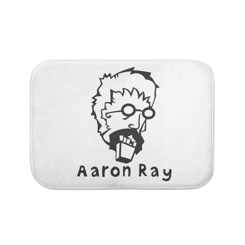 Aaron Ray Zombie Head Home Bath Mat by Turkeylegsray's Artist Shop