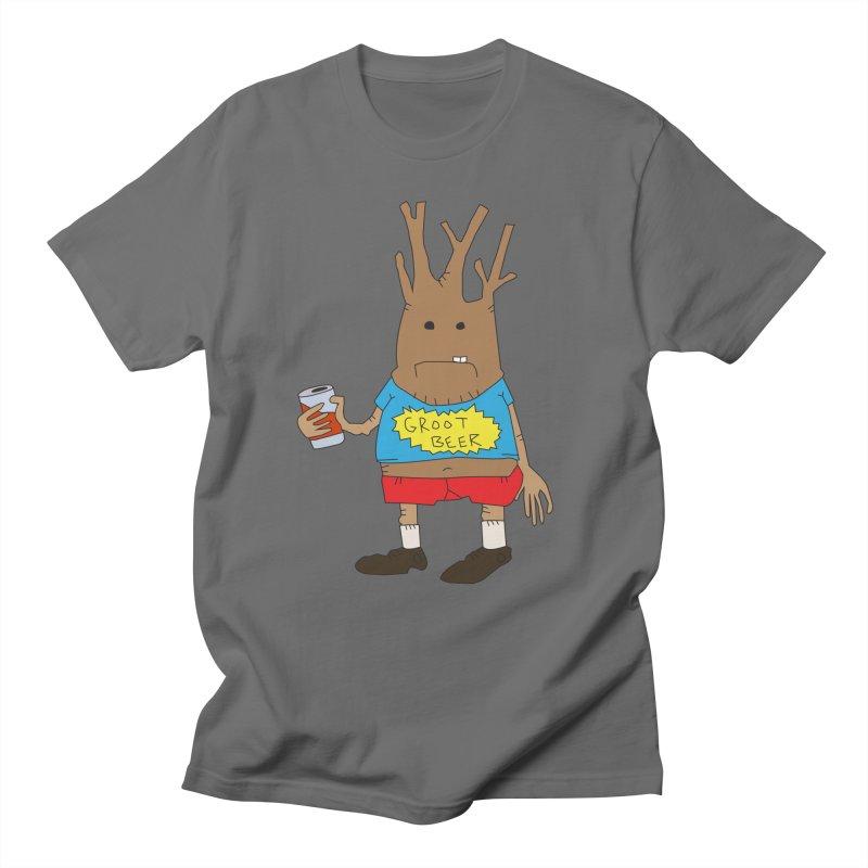 GROOT BEER Men's T-Shirt by Turkeylegsray's Artist Shop