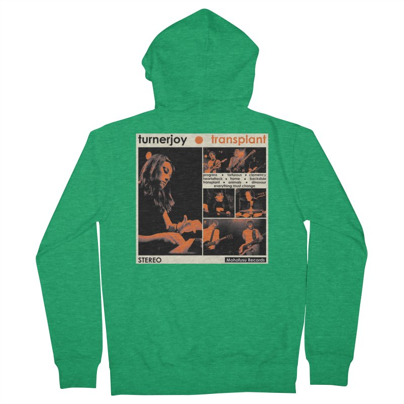 Transplant Men's Zip-Up Hoody by turnerjoy's Artist Shop