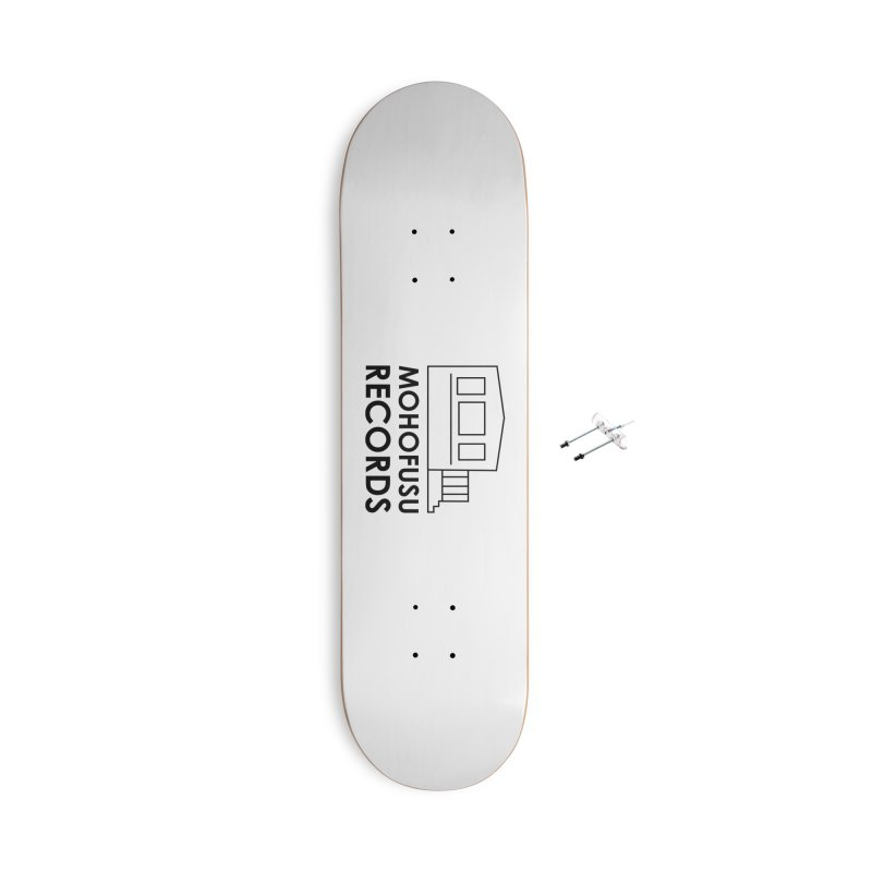 MOHOFUSU Records Accessories Skateboard by turnerjoy's Artist Shop