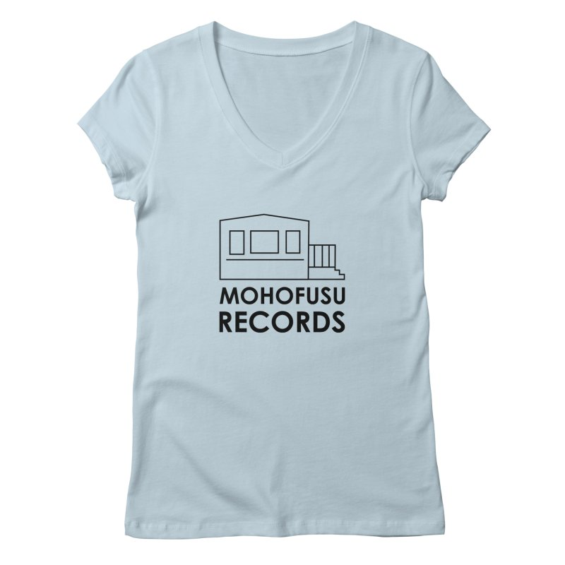 MOHOFUSU Records Women's V-Neck by turnerjoy's Artist Shop