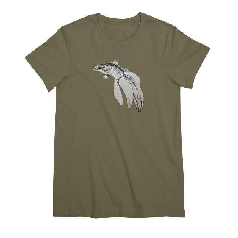 Bananafish Women's T-Shirt by turnerjoy's Artist Shop