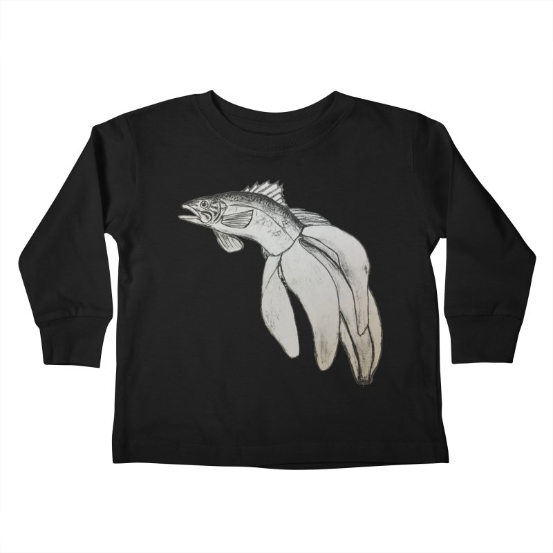 Bananafish Kids Toddler Longsleeve T-Shirt by turnerjoy's Artist Shop