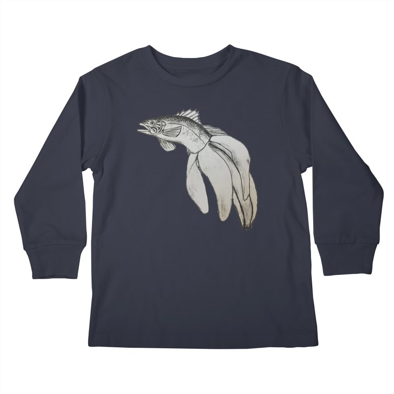 Bananafish Kids Longsleeve T-Shirt by turnerjoy's Artist Shop