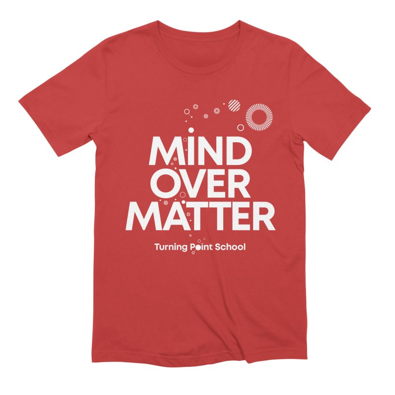 Study Tour Shirt - Mind Over Matter in Men's Extra Soft T-Shirt Red by Turning Point School