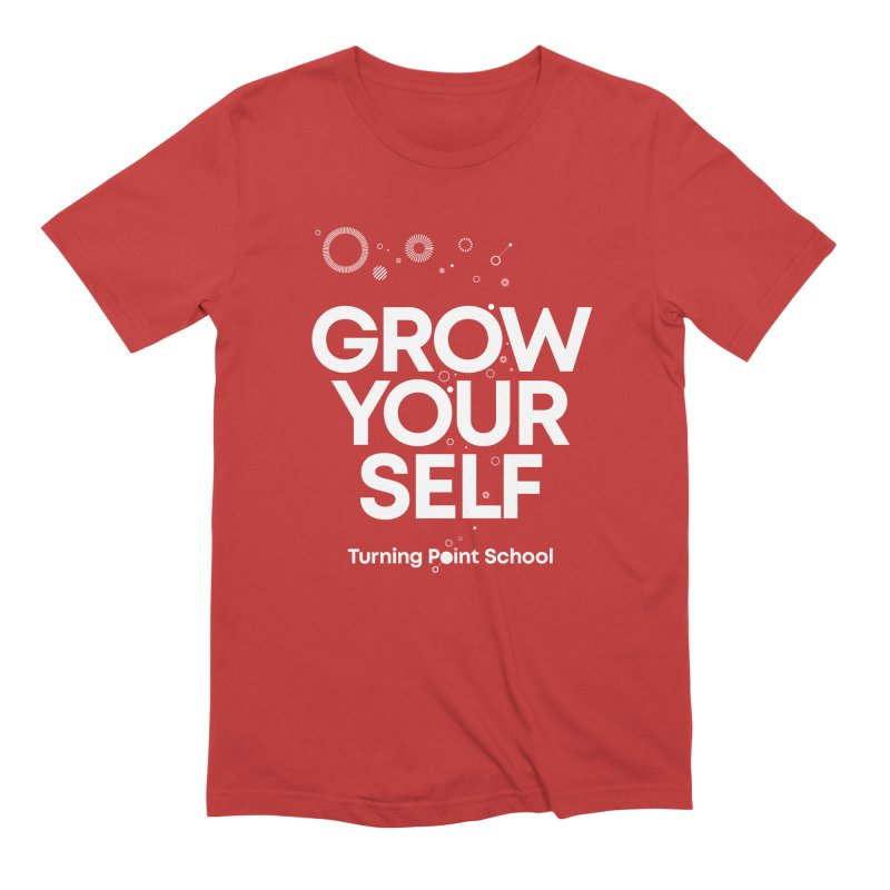 Study Tour Shirt - Grow Your Self in Men's Extra Soft T-Shirt Red by Turning Point School