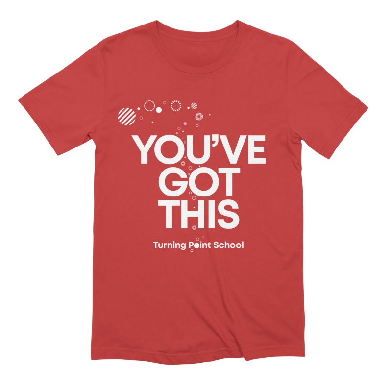 Study Tour Shirt - You've Got This in Men's Extra Soft T-Shirt Red by Turning Point School