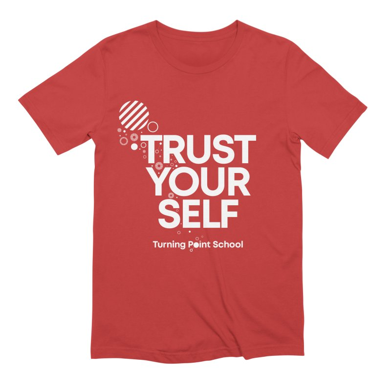 Study Tour Shirt - Trust Your Self in Men's Extra Soft T-Shirt Red by Turning Point School