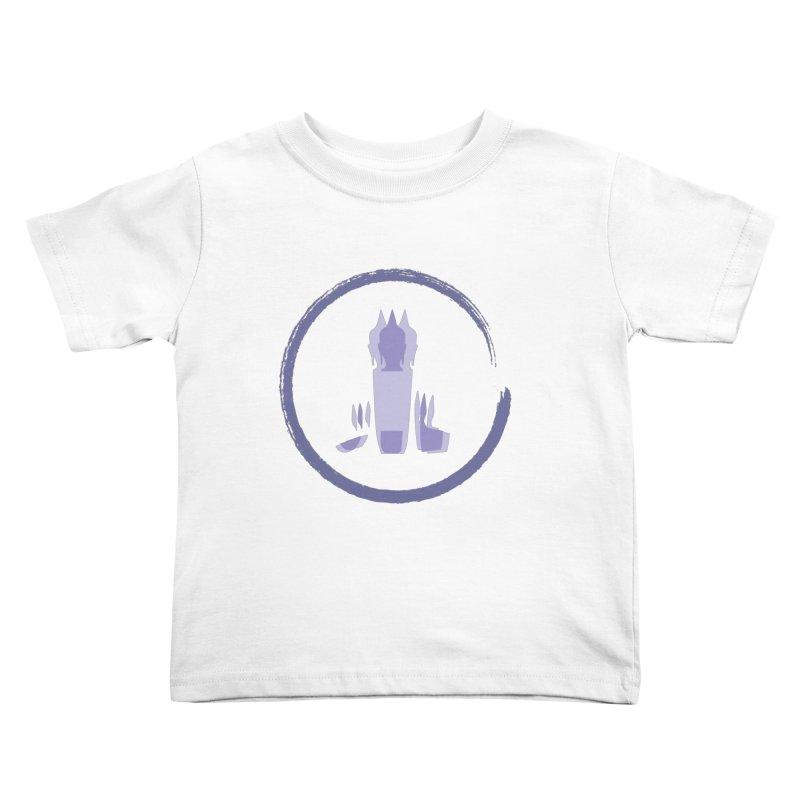 Three Headed Buddha Kids Toddler T-Shirt by tuttilu's Artist Shop